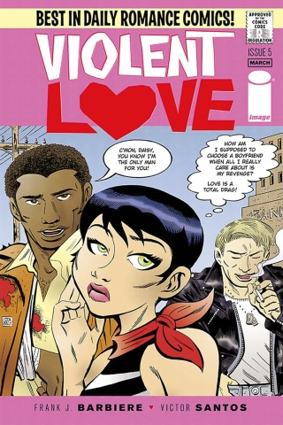 Violent Love #5 (Santos Cover)