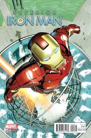 Superior Iron Man #9 (Mayhew NYC Cover)