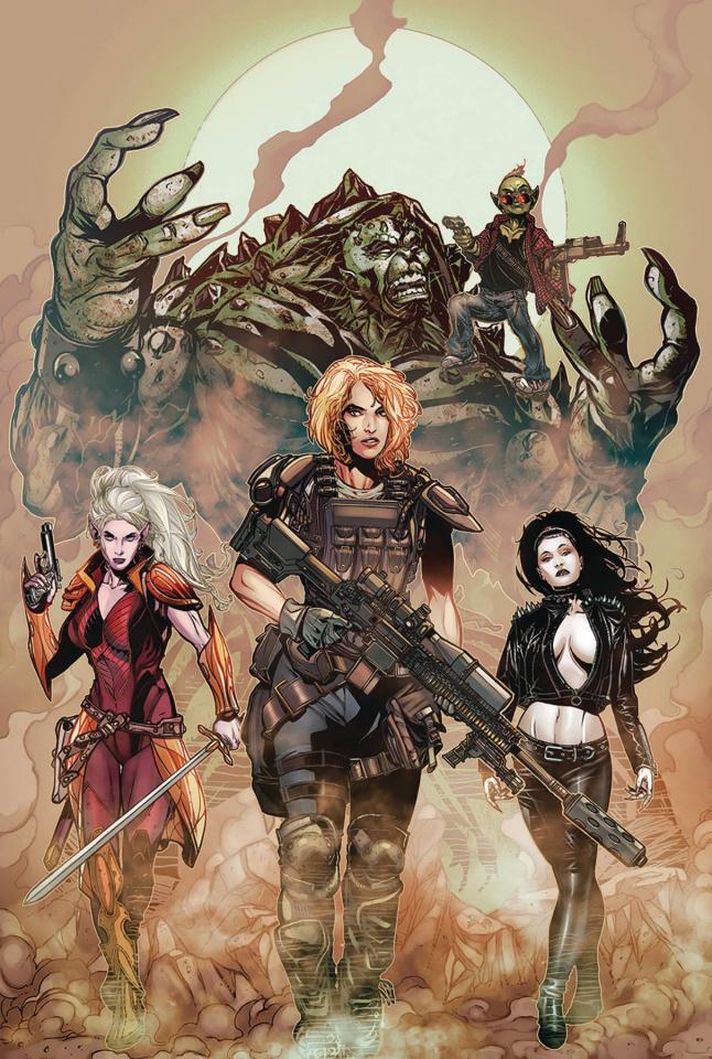 Monster Planet #5 (Johnson Cover)
