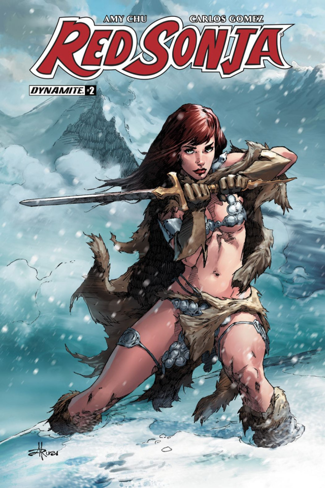 Red Sonja #2 (Rubi Subscription Cover)