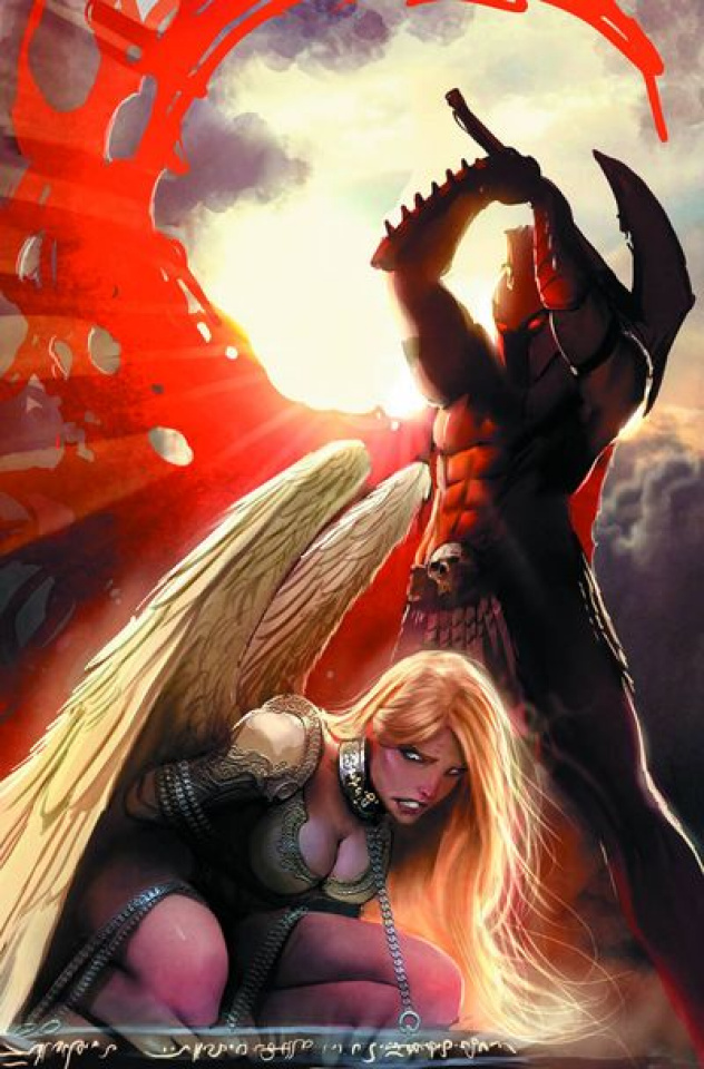 Grimm Fairy Tales Annual 2012 (Sejic Cover)