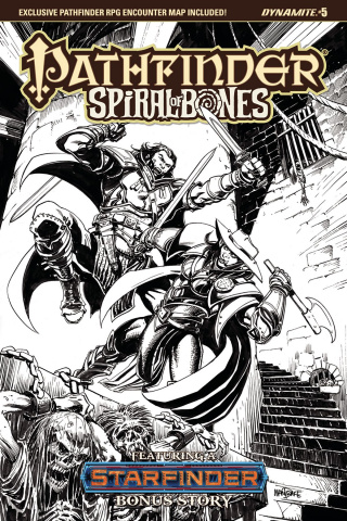 Pathfinder: Spiral of Bones #5 (10 Copy Mandrake Cover)