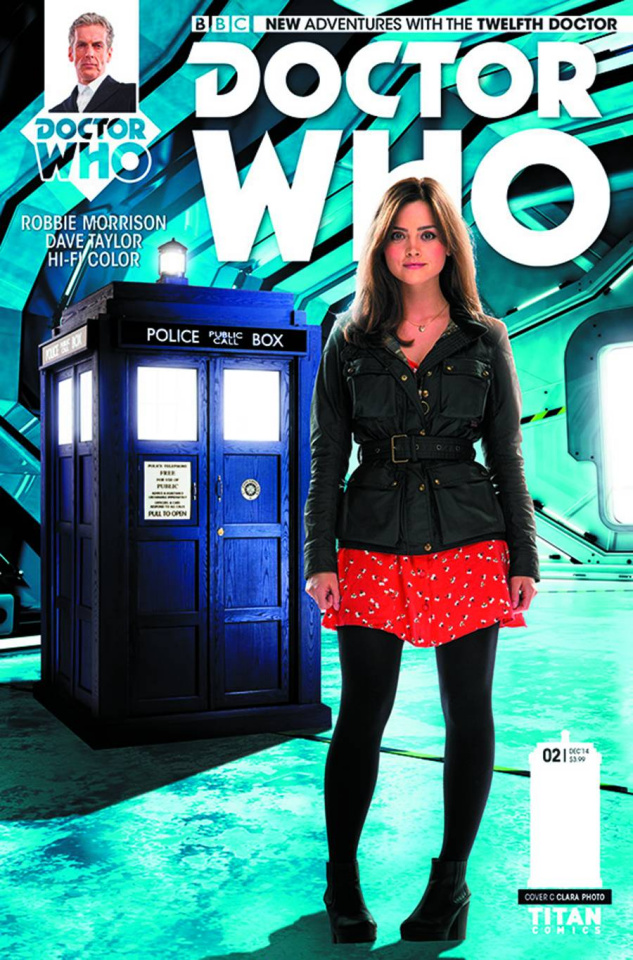 Doctor Who: New Adventures with the Twelfth Doctor #2 (10 Copy Clara Photo Cover)