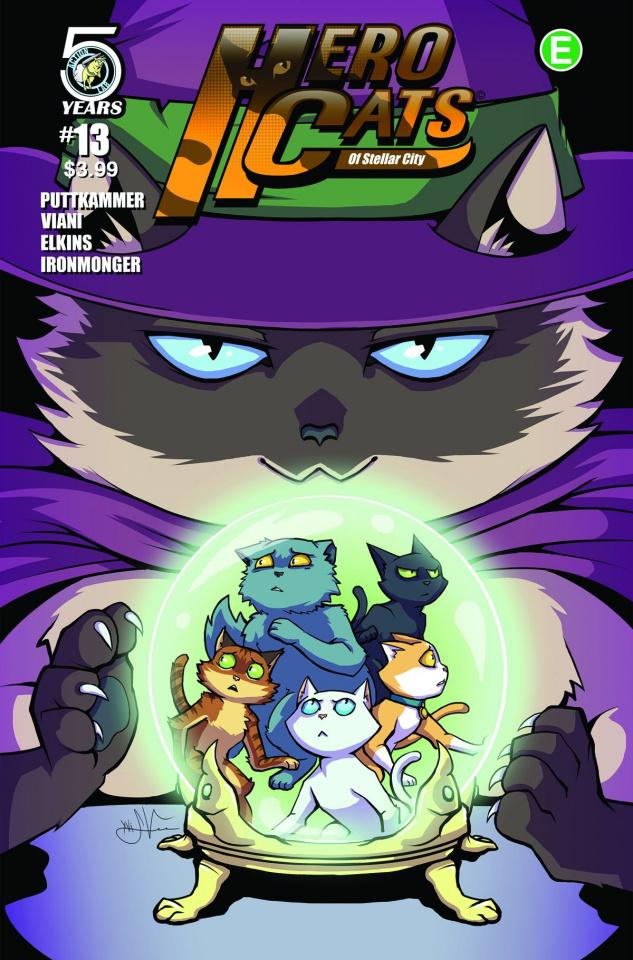 Hero Cats #13 (Viani Cover)