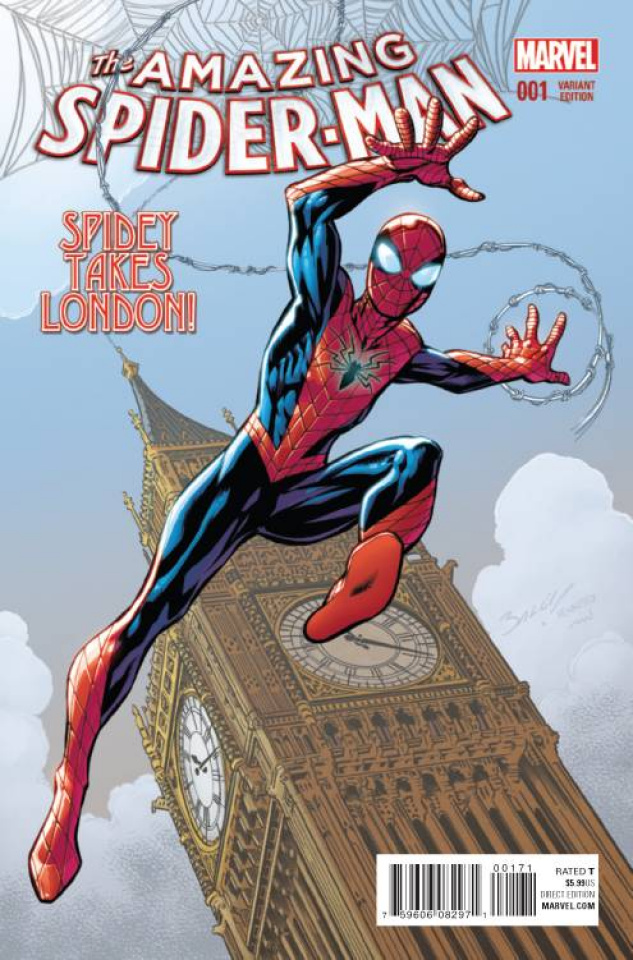 The Amazing Spider-Man #1 (Bagley Cover)