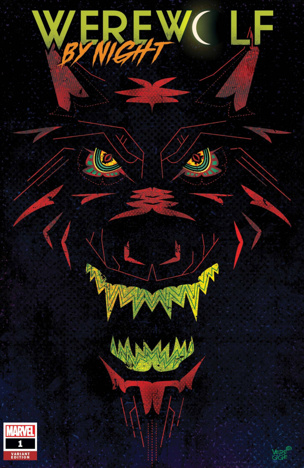 Werewolf by Night #1 (Veregge Cover)