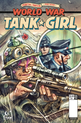 Tank Girl: World War Tank Girl #2 (Wahl Cover)