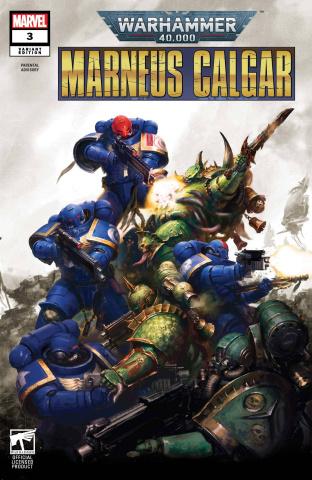 Warhammer 40,000: Marneus Calgar #3 (Games Workshop Cover)