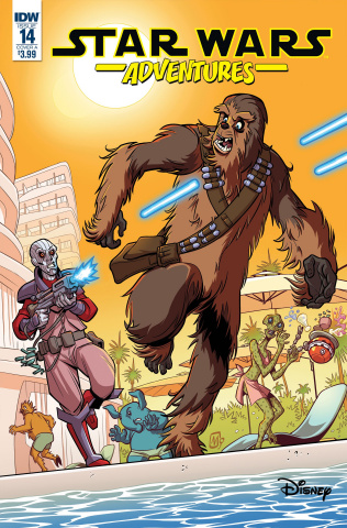 Star Wars Adventures #14 (Mauricet Cover)