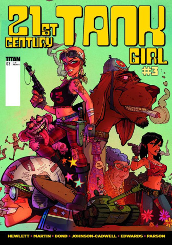 21st Century Tank Girl #3 (Parson Cover)