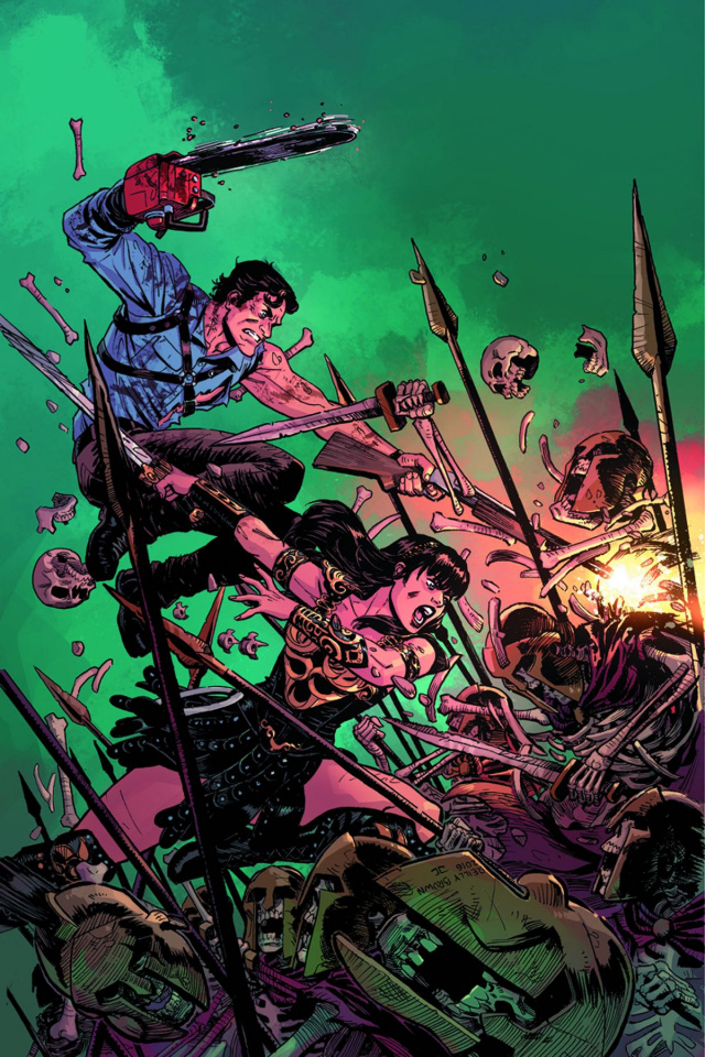 Army of Darkness / Xena: Forever... And a Day #1 (20 Copy Cover)