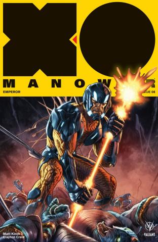 X-O Manowar #8 (Larosa Cover)