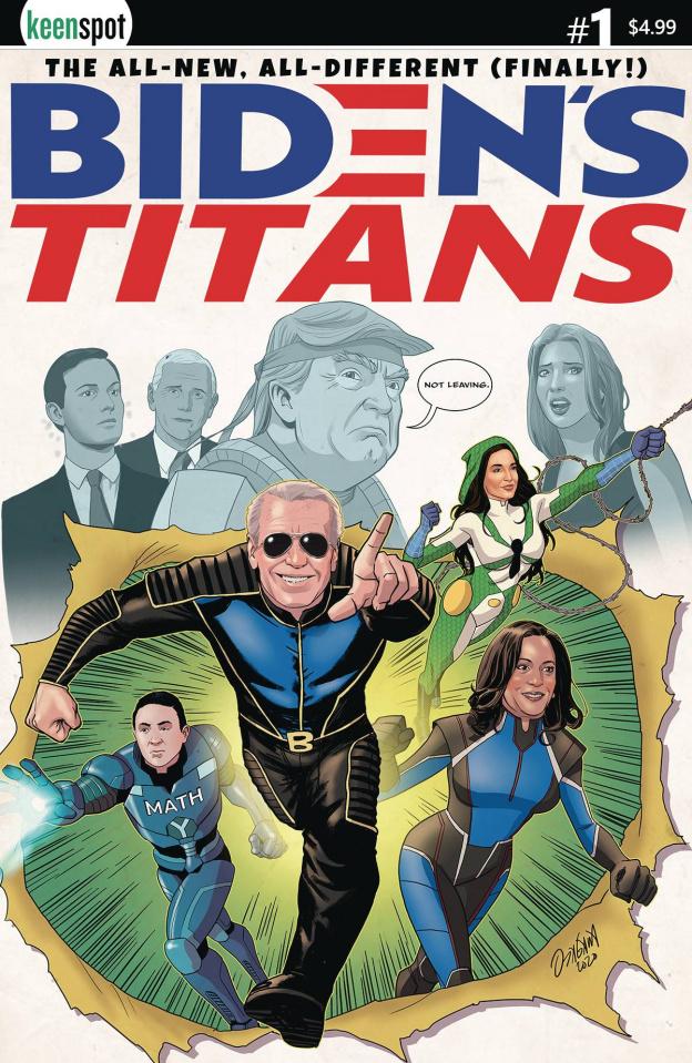 Biden's Titans #1 (Ryan Odagawa Cover)