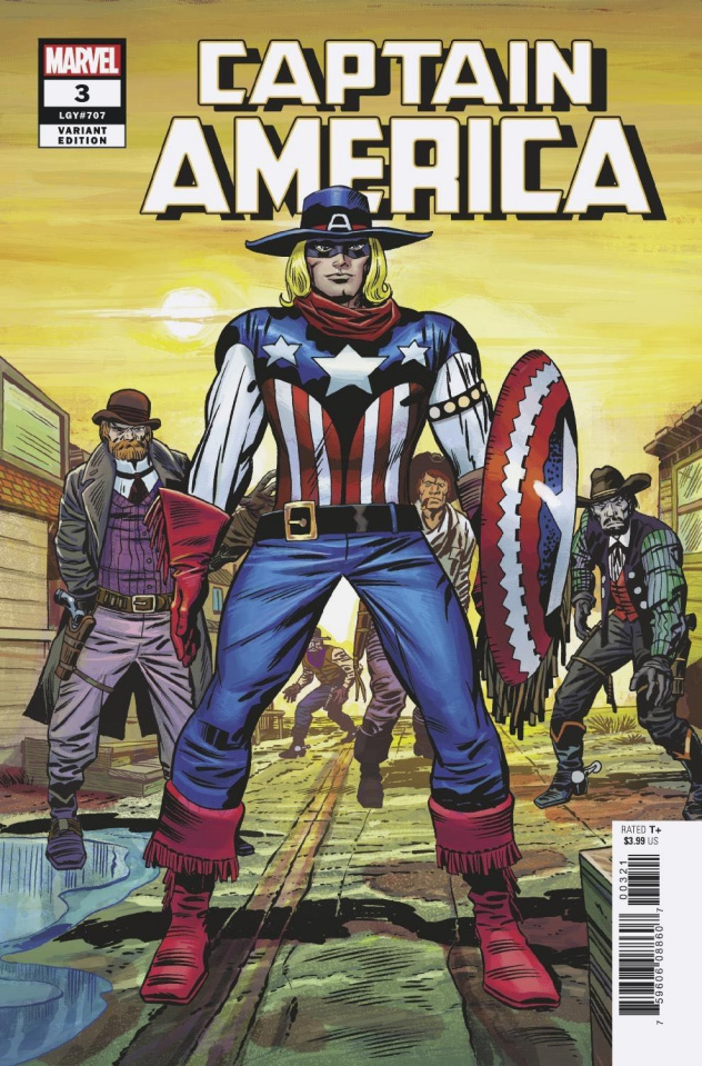 Captain America #3 (Kirby Remastered Cover)