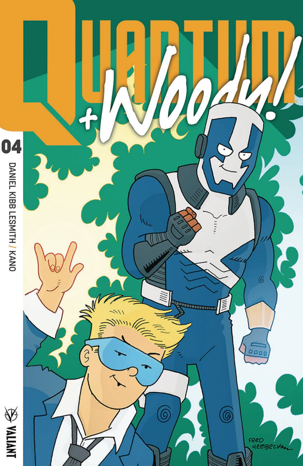 Quantum & Woody #4 (50 Copy Hembeck Cover)
