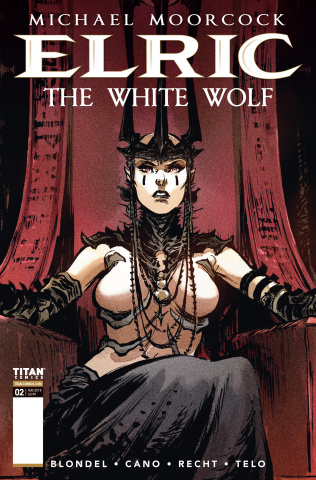 Elric: The White Wolf #2 (Telo Cover)