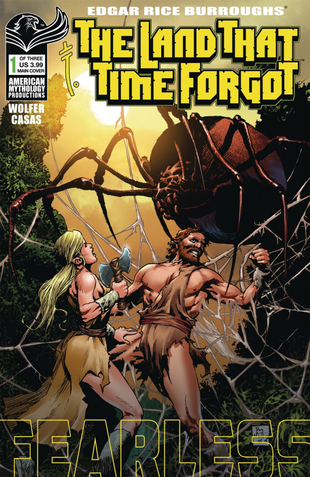 The Land That Time Forgot: Fearless #1 (Martinez Cover)
