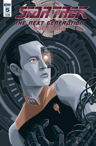 Star Trek: The Next Generation - Mirror Broken #5 (Woodward Cover)