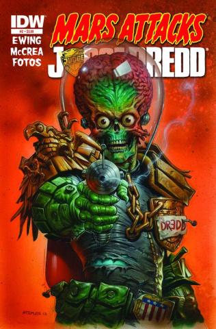 Mars Attacks Judge Dredd #2
