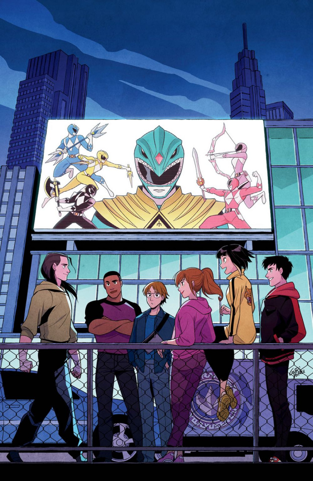 Go, Go, Power Rangers! #21 (20 Copy Gurihiru Cover)