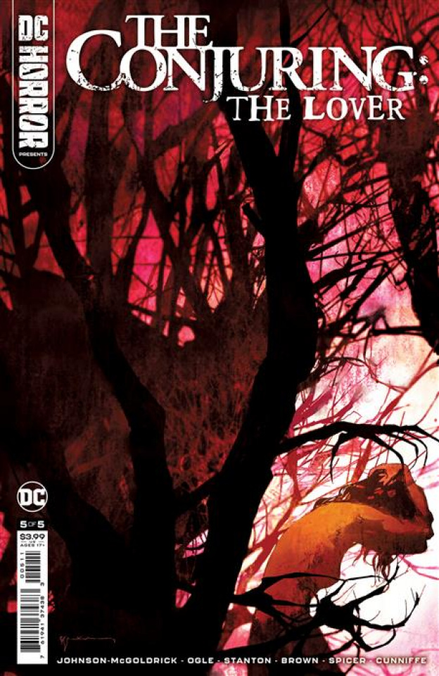 DC Horror Presents: The Conjuring - The Lover #5 (Bill Sienkiewicz Cover)