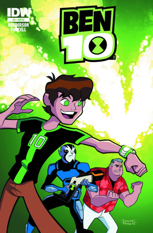 Ben 10 #2 (Subscription Cover)