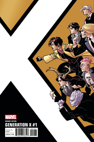 Generation X #1 (Kirk Corner Box Cover)