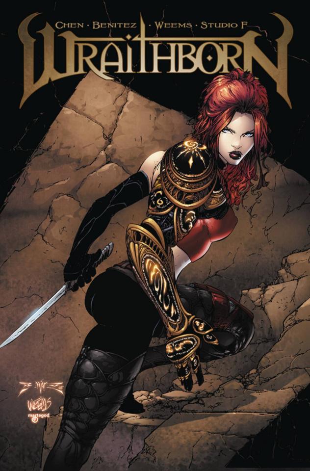 Wraithborn #4 (10 Copy Cover)