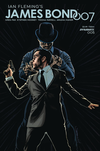 James Bond: 007 #5 (Mooney Cover)