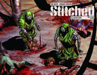 Stitched #15 (Wrap Cover)