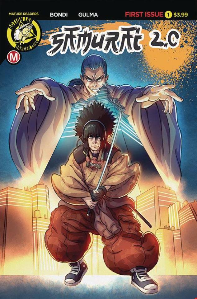 Samurai 2.0 #1 (Foreigner Cover)