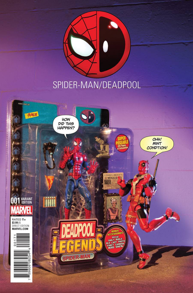 Spider-Man / Deadpool #1 (Action Figure Photo Cover)