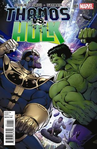 Thanos vs. Hulk #1