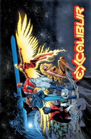 Excalibur #1 (Davis Hidden Gem Cover)