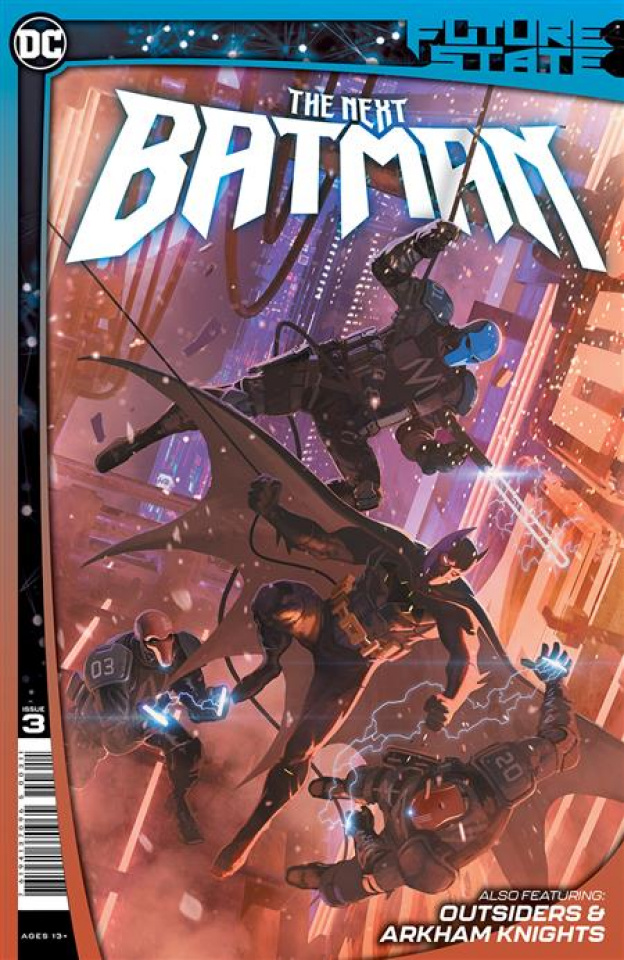 Future State: The Next Batman #3 (Ladronn Cover)