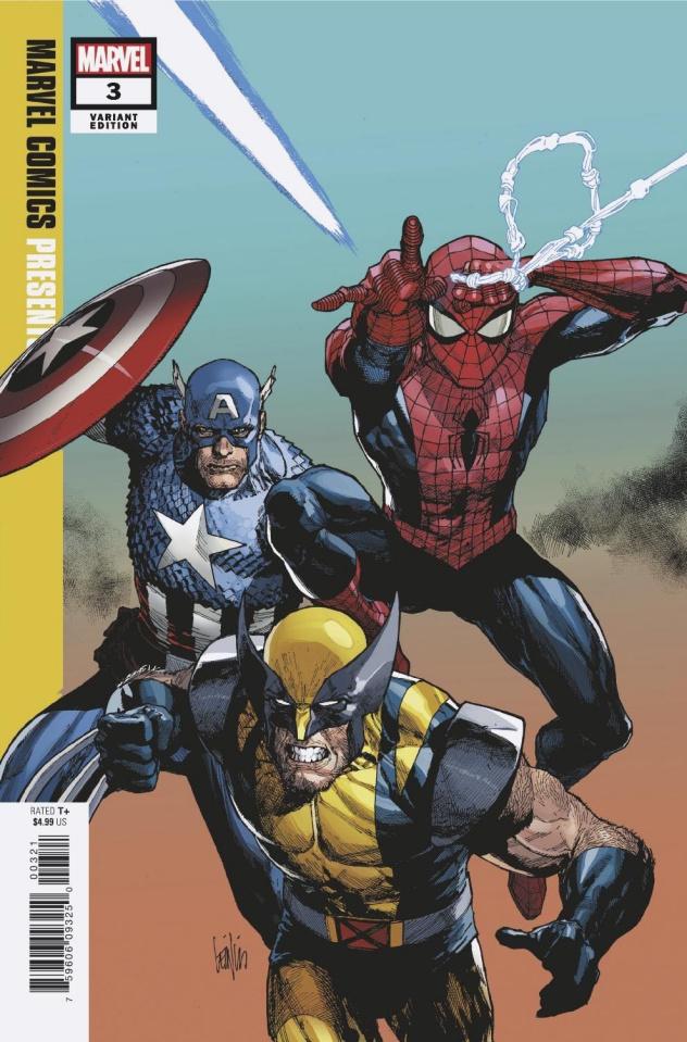 Marvel Comics Presents #3 (Variant Cover)
