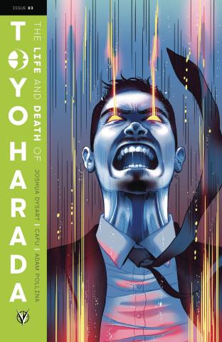 The Life and Death of Toyo Harada #3 (Ganucheau Cover)