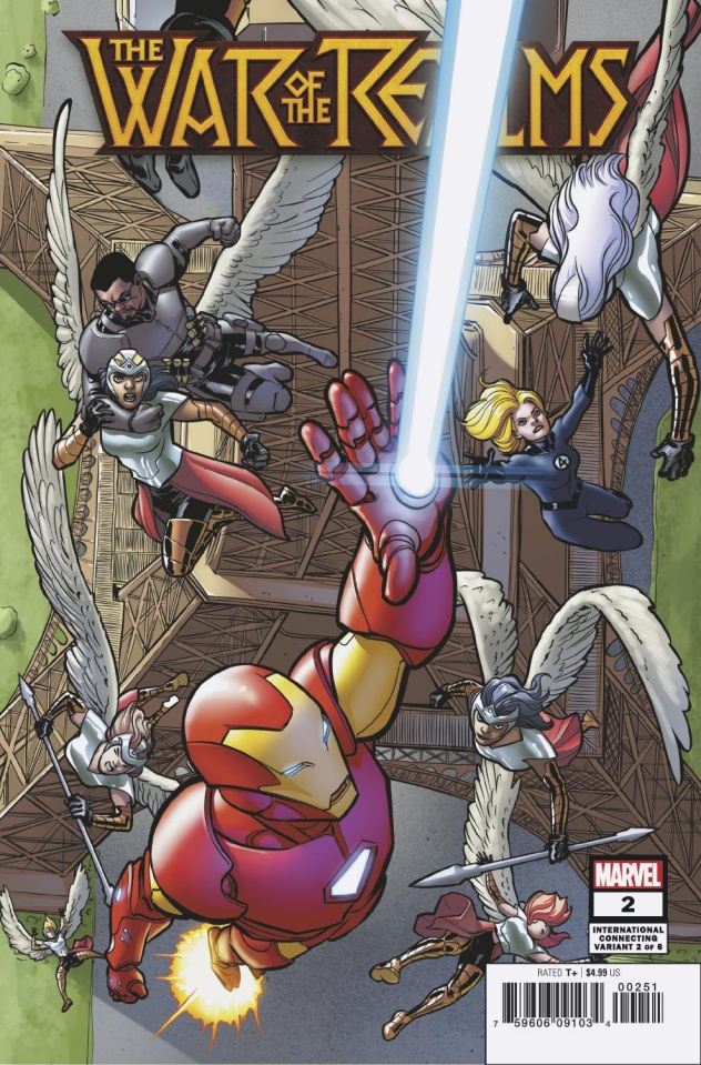 The War of the Realms #2 (Lopez International Cover)