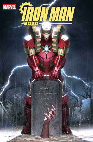 Iron Man 2020 #1 (Inhyuk Lee Cover)