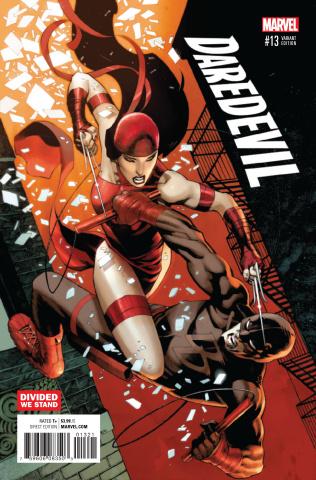 Daredevil #13 (Stevens Divided We Stand Cover)