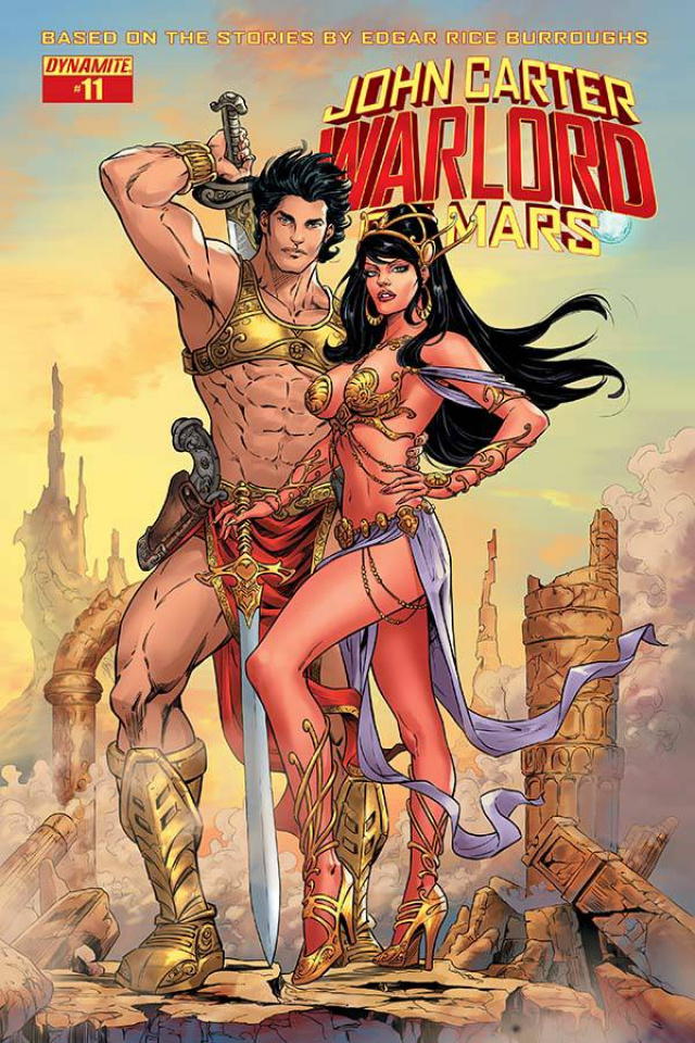 John Carter: Warlord of Mars #11 (Malsuni Cover)