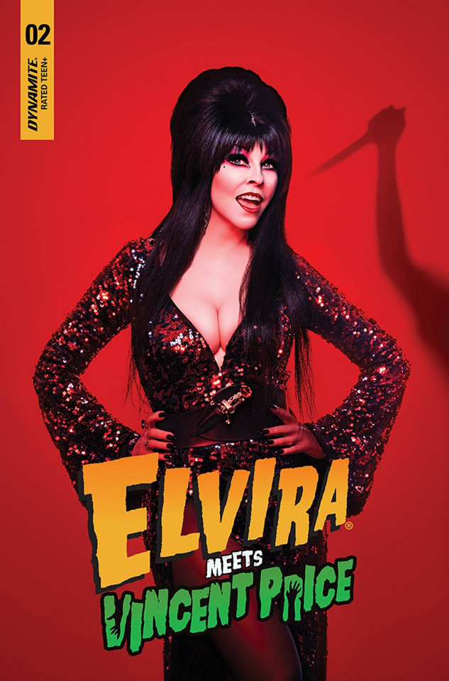 Elvira Meets Vincent Price #2 (Photo Cover)