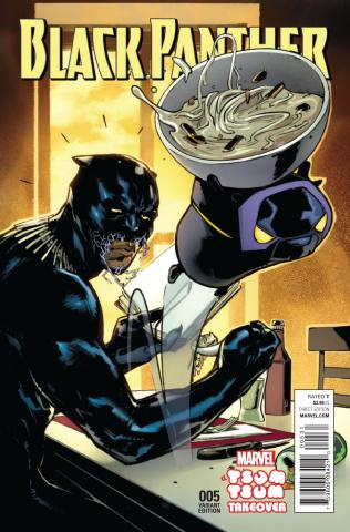 Black Panther #5 (Pichelli Tsum Tsum Cover)