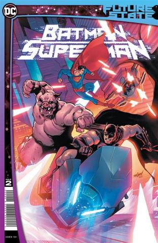 Future State: Batman / Superman #2 (David Marquez Cover)