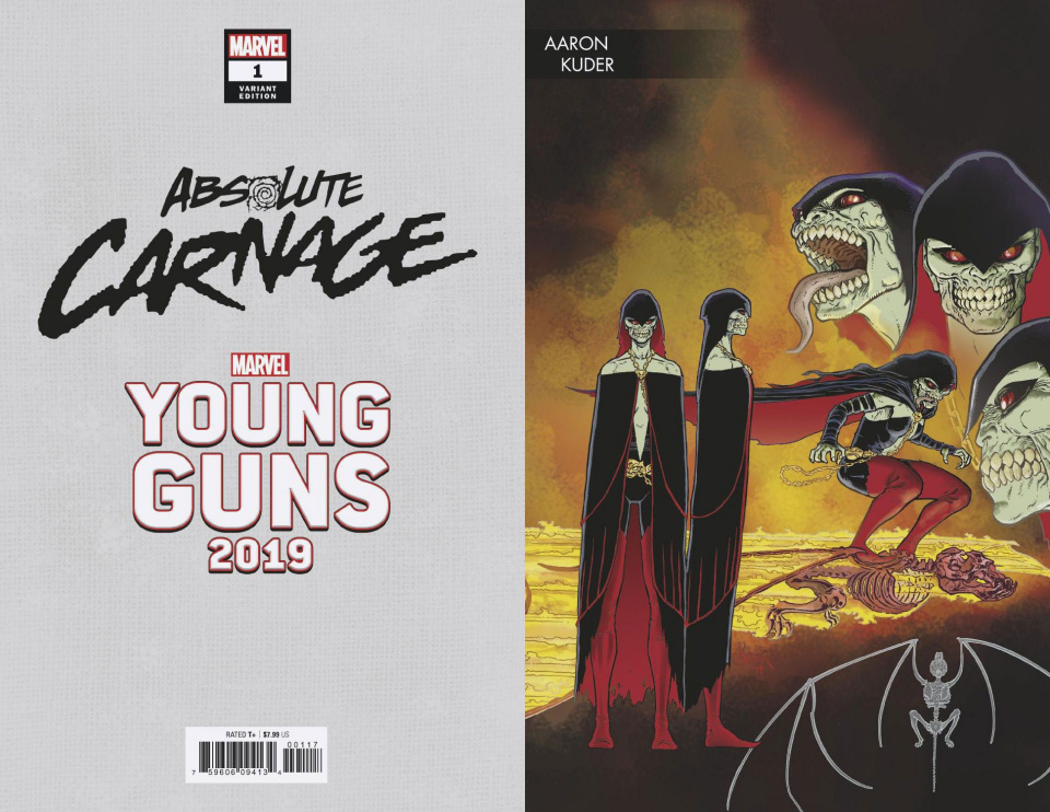 Absolute Carnage #1 (Kuder Young Guns Cover)