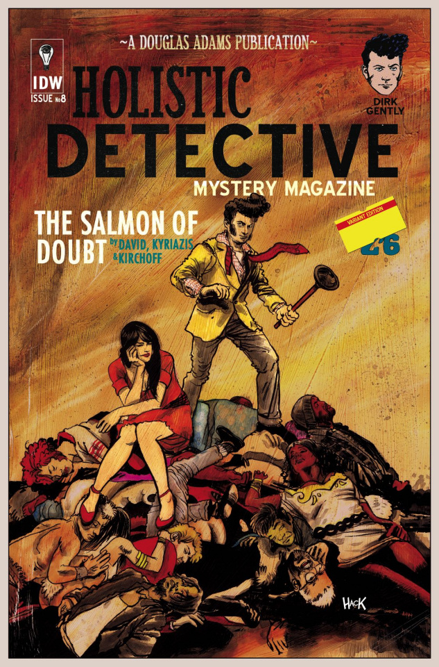 Dirk Gently's Holistic Detective Agency: The Salmon of Doubt #8 (10 Copy Cover)