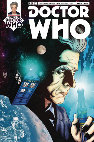 Doctor Who: New Adventures with the Twelfth Doctor, Year Three #11 (Shedd Cover)