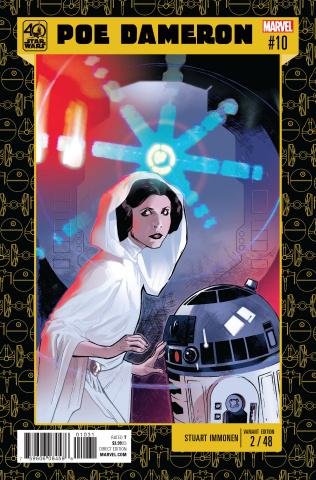 Star Wars: Poe Dameron #10 (Immonen Star Wars 40th Anniversary Cover)