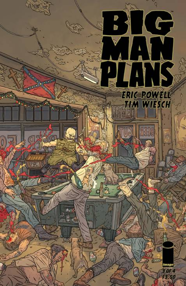 Big Man Plans #3 (Darrow 30 Copy Cover)