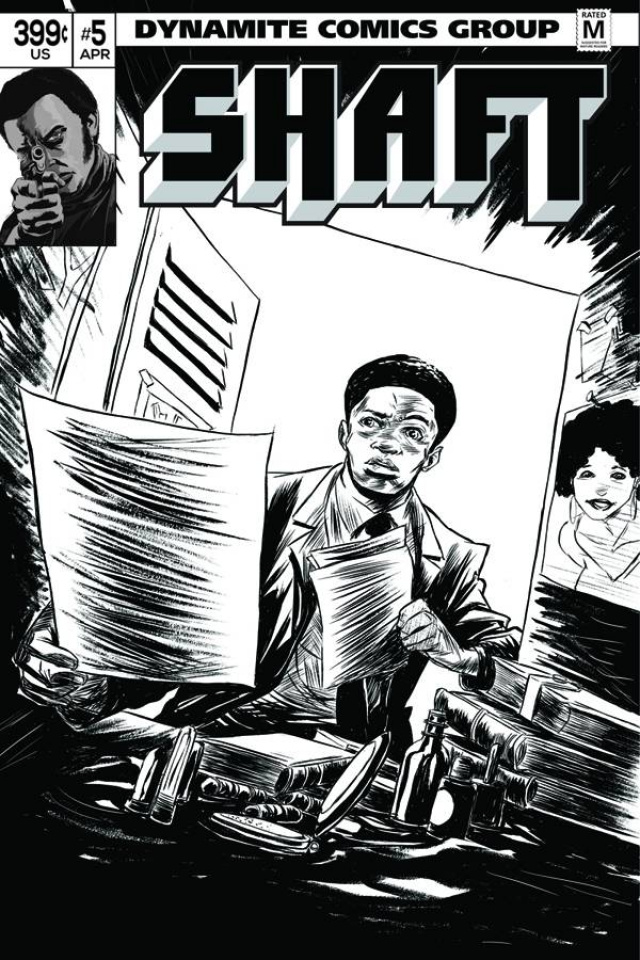 Shaft #5 (15 Copy Greene B&W Cover)